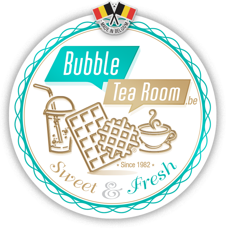 Logo bubble tea room Sweet & Salty